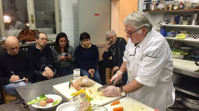 Pasta making picture of scuola di cucina di lella siena
