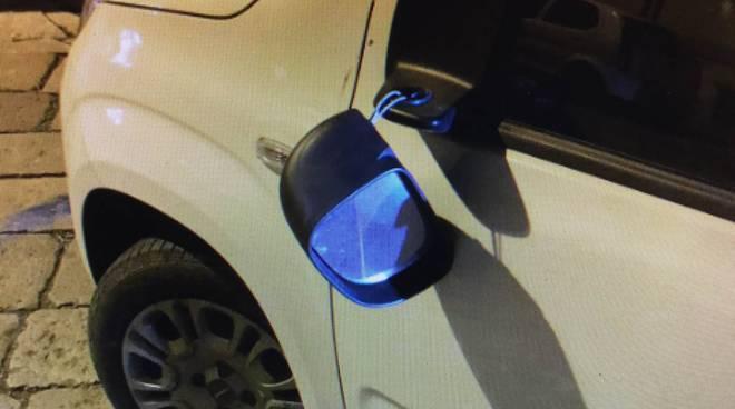 Auto danneggiata