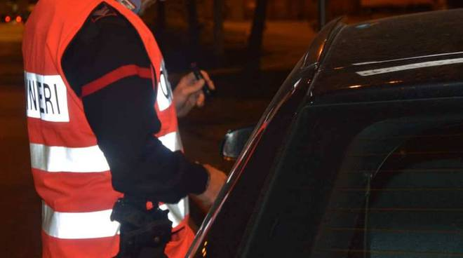 Controlli dei carabinieri di Piacenza