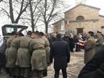 Funerali generale Castagnetti a Veleia 2018