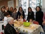 Il sindaco Barbieri al centro 'Bambini e anziani insieme'