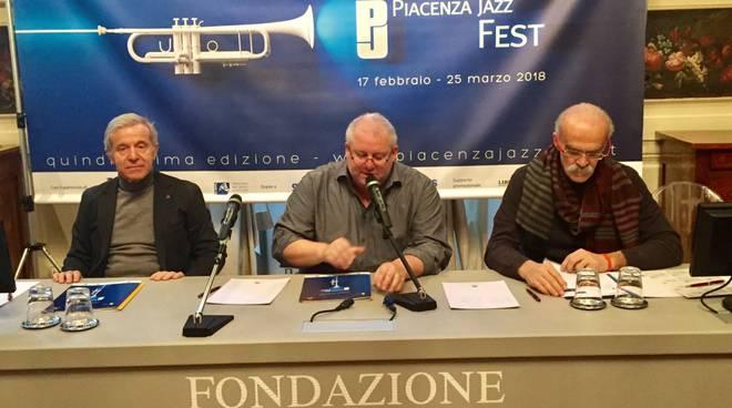La presentazione del Piacenza Jazz Fest