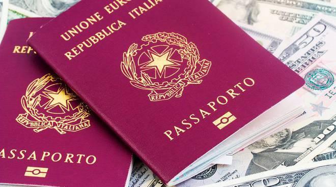 rilascio passaporto italiano per stranieri