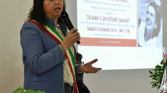 Patrizia Calza, sindaco di Gragnano