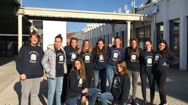Squadra femminile Liceo Respighi