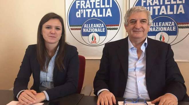 Erika Opizzi e Tommaso Foti