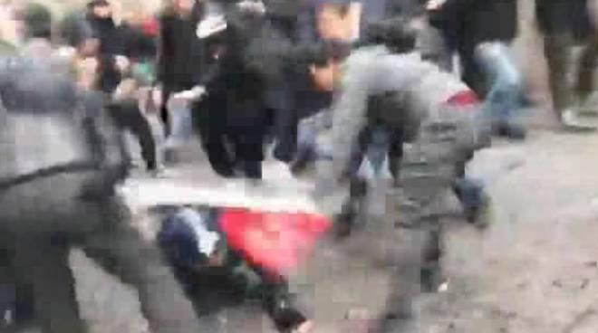 aggressione carabiniere
