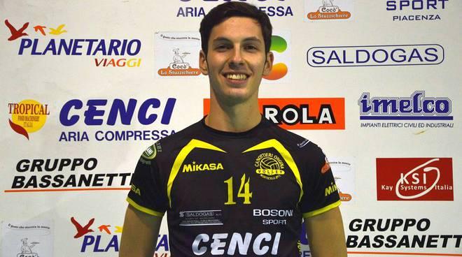Alessandro Soavi della Canottieri Ongina