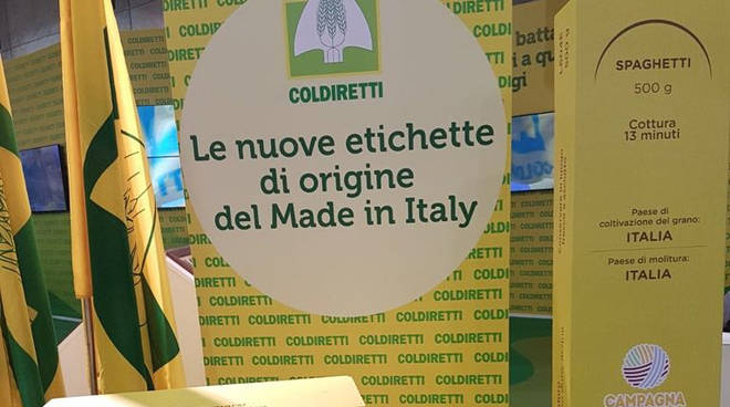 Etichette Coldiretti