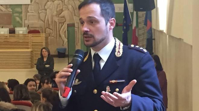 Filippo Sordi all'incontro contro il Bullismo