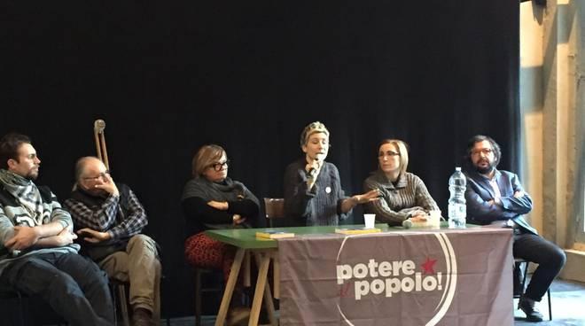 Francesca Fornario e Potere al Popolo