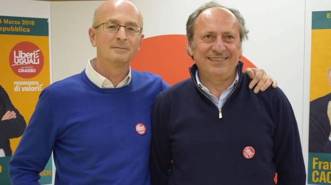 Francesco Cacciatore e Alessandro Ghisoni