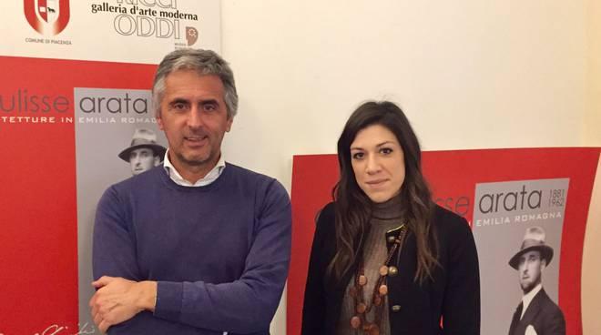 Giuseppe Baracchi e Marta Piana