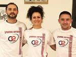 Gli istruttori Emanuele Baldanti, Antonella Busca e Filippo Fontana (C.E. Yama Arashi)
