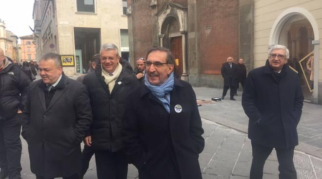 Ignazio La Russa (Fratelli d'Italia) a Piacenza