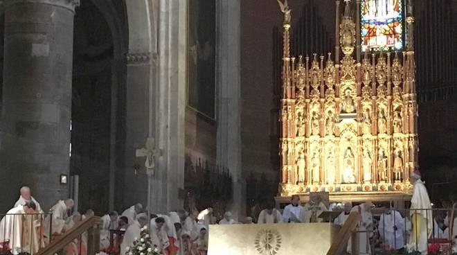 Il decennale del vescovo Ambrosio in Cattedrale