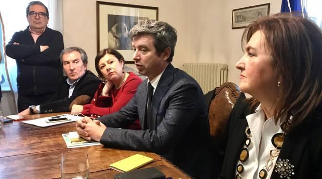 Il ministro Orlando a Piacenza