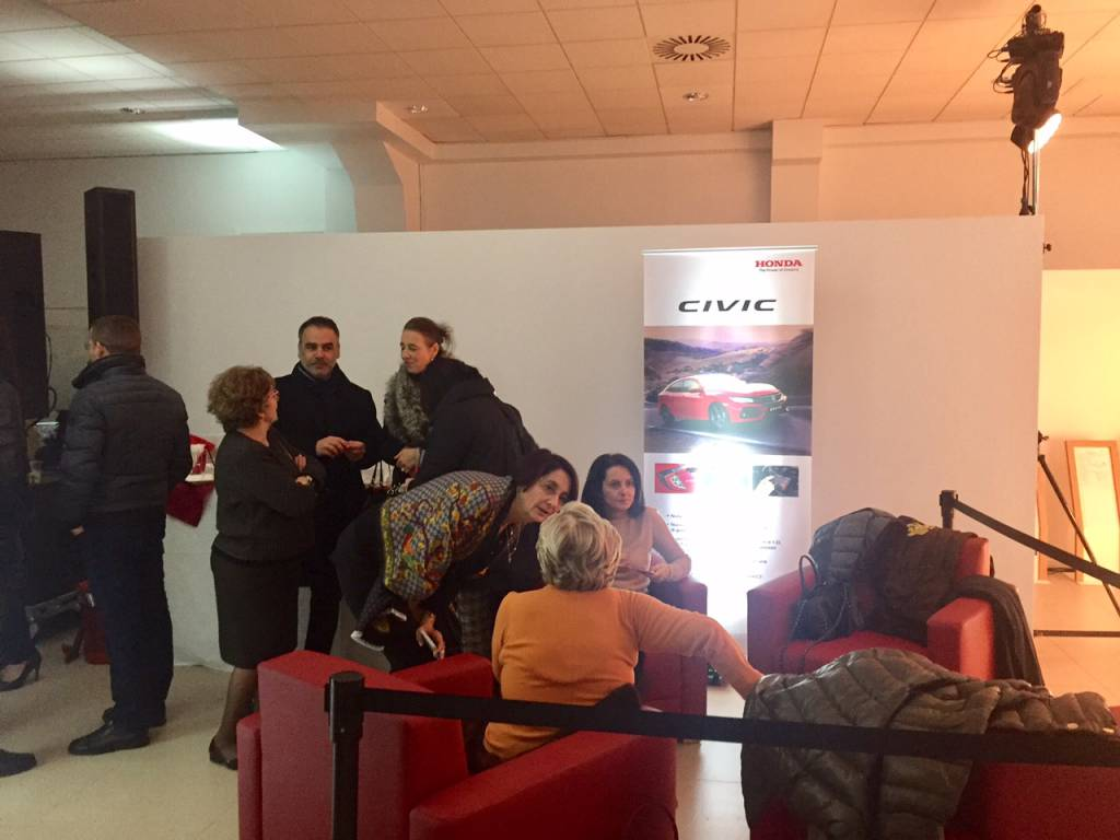 Inaugurazione autosalone Honda Parietti
