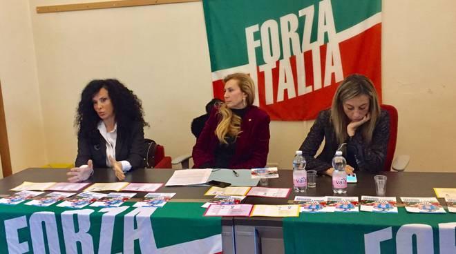 Incontro candidate Forza Italia