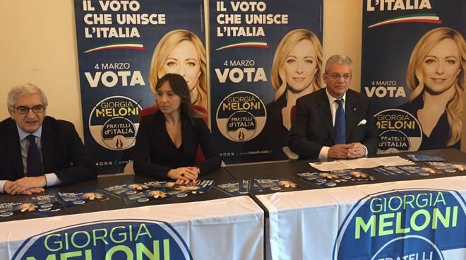 L'incontro di Fratelli d'Italia con Ylenja Lucaselli