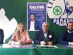 La conferenza stampa della Lega Nord