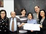 La consegna della donazione di Federfarma