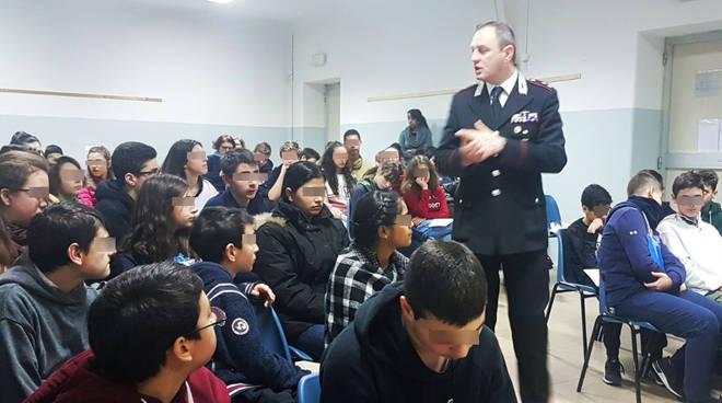La lezione dei carabinieri