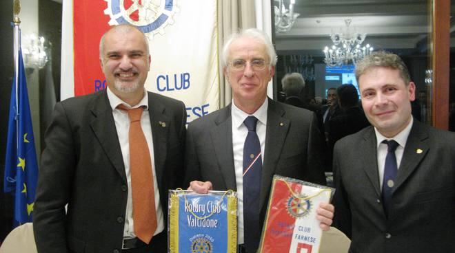 La serata al Rotary