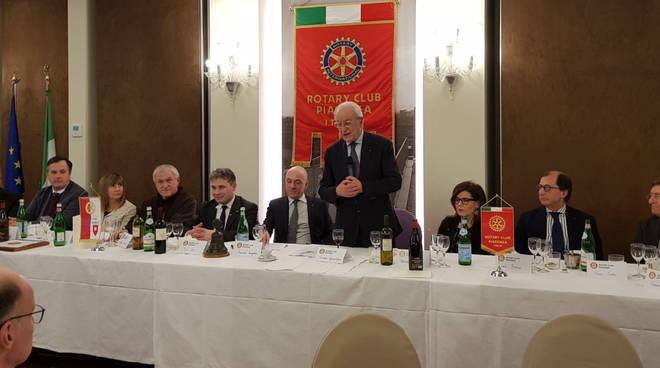 La serata al Rotary sul Pordenone
