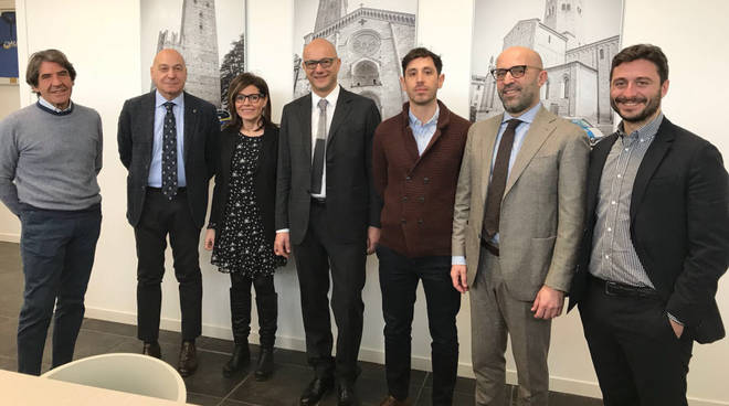 La visita del sindaco a Metronotte Piacenza