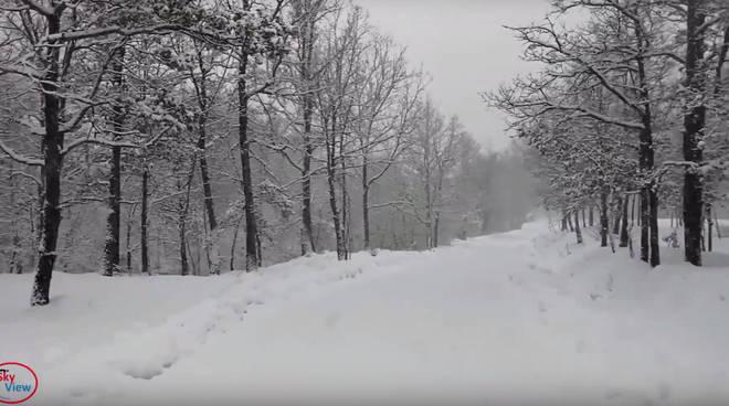 Neve in alta Valdarda