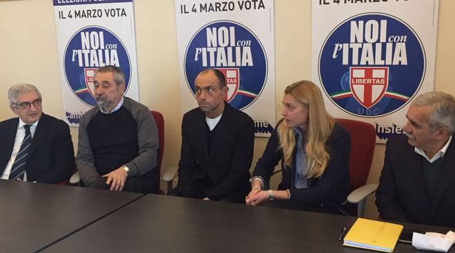 Presentazione candidati Udc - Noi con l'italia elezioni 4 marzo