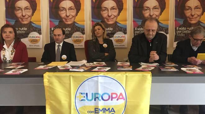 Presentazione Più Europa con Emma Bonino