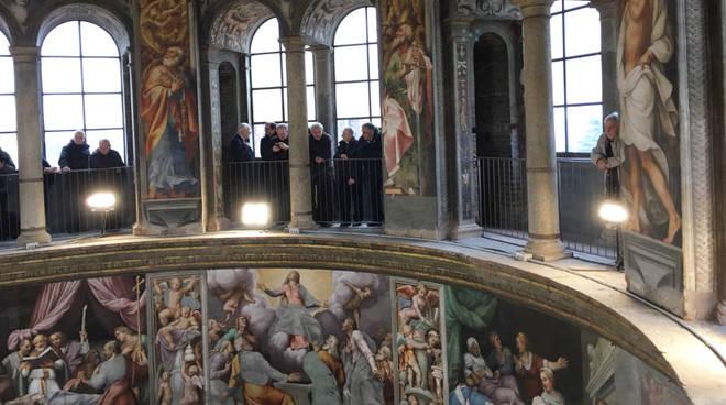 Salita al Pordenone, visita vescovi di Piacenza e Cremona