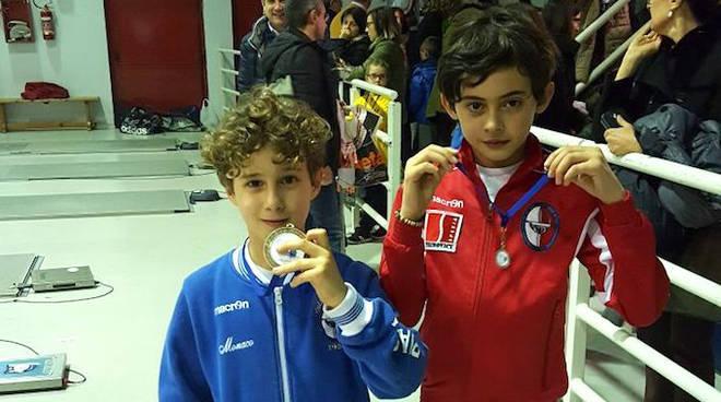 Valentino Monaco e Andrea Bossalini