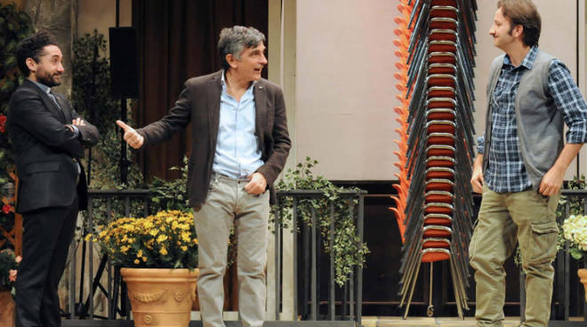 Vincenzo Salemme in scena