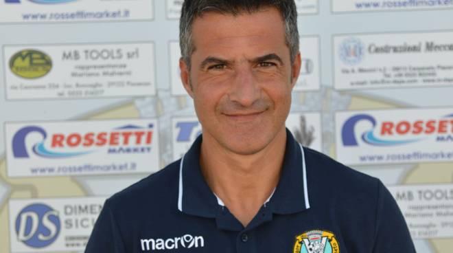 Walter Luchetti, tecnico del Vigor Carpaneto juniores