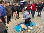 A lezione di defibrillatore con Progetto Vita