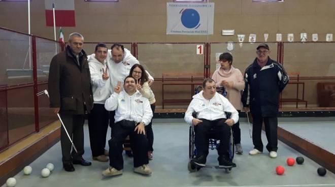 Bocce disabili Carpaneto