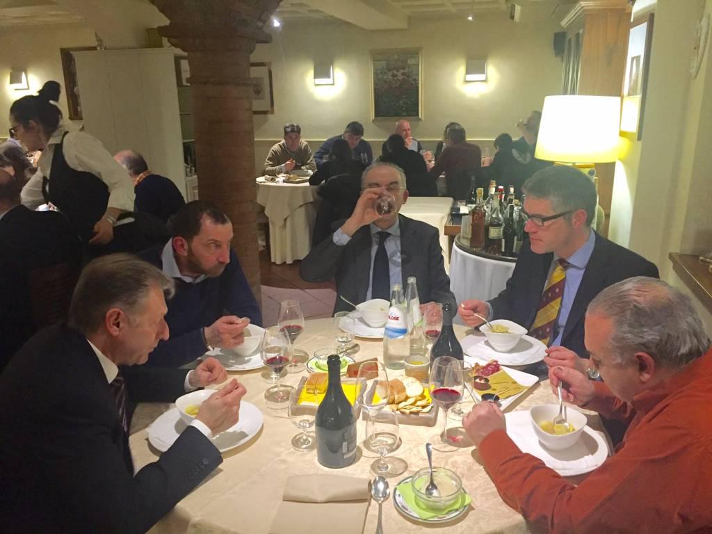 Cena del consorzio La Carne che Piace a La Colonna di San Nicolò