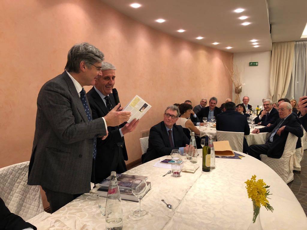 Cena del Liberali Piacentini con Del Debbio