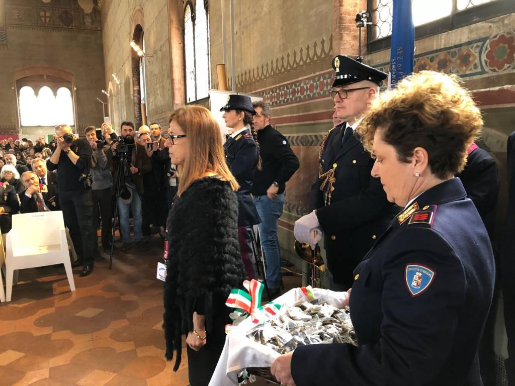 Cerimonia conclusiva corso polizia vice ispettore