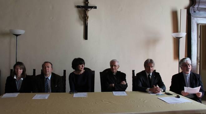 Conferenza stampa Diocesi di Piacenza e Unicatt