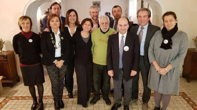 I candidati del centrosinistra con la lista Insieme