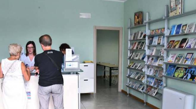 I locali della biblioteca al centro civico