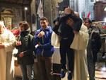 Il ballo dei bambini in Santa Maria di Campagna