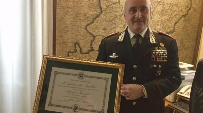 Il colonnello Corrado Scattaretico