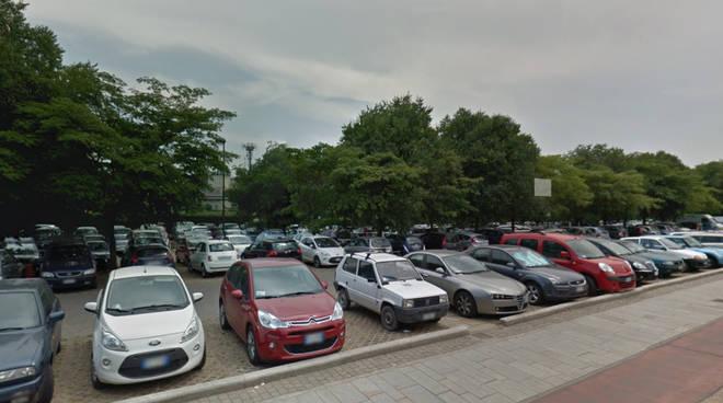 Il parcheggio di viale Sant'Ambrogio