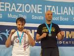 il podio di Davide Bacci nel kick-light al Criterium di Rimini