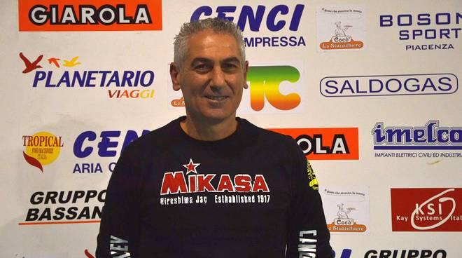 Il tecnico della Canottieri Ongina Mauro Bartolomeo